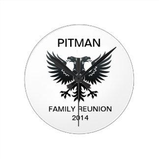 PITMAN REUNION CLOCK