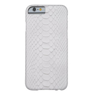 Pitón blanco funda de iPhone 6 barely there