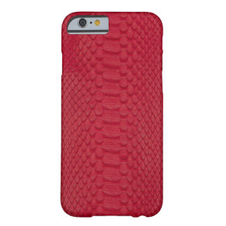 Pitón rojo funda para iPhone 6 barely there