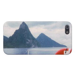 Pitons del mar iPhone 5 fundas