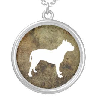 Pitt Bull Staffordshire  Illustrated Necklace
