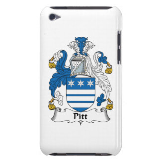 Pitt Family Crest Barely There iPod Cases