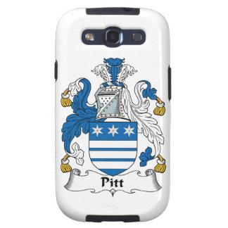 Pitt Family Crest Galaxy S3 Cases