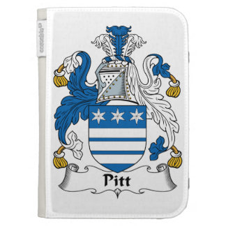 Pitt Family Crest Kindle Folio Cases