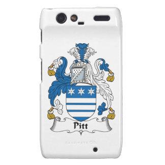 Pitt Family Crest Motorola Droid RAZR Cover