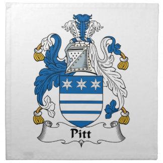 Pitt Family Crest Napkins
