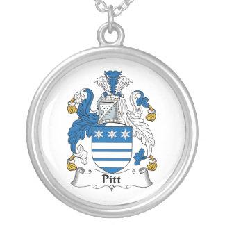 Pitt Family Crest Necklaces