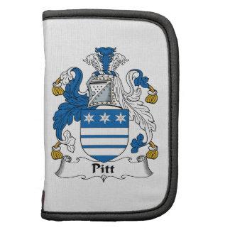 Pitt Family Crest Planner