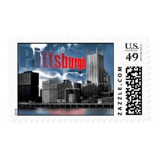 Pitteburgh Postage Stamp