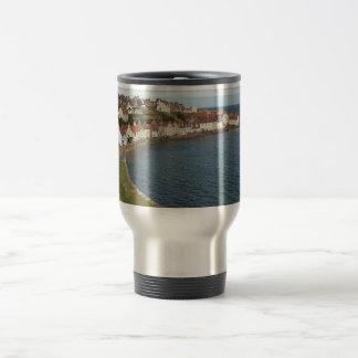 Pittenweem Harbour Stainless Steel Travel Mug