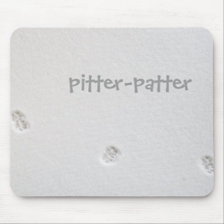 Pitter-patter Mouse Pad