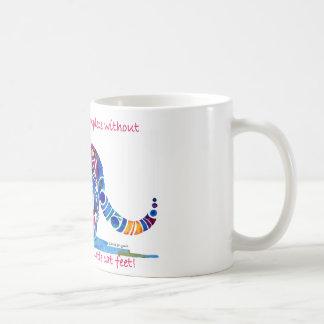 Pitter Patter of Little Cat Feet Coffee Mug