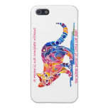 Pitter Patter of Little Cat Feet iPhone 5 cover