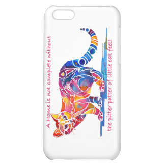 Pitter Patter of Little Cat Feet iPhone Case iPhone 5C Cover