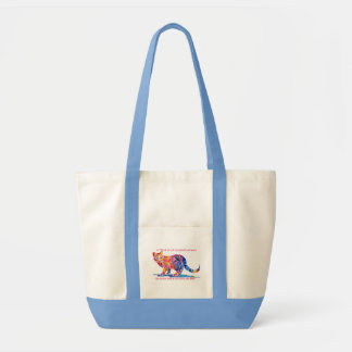 Pitter Patter of Little Cat Feet Tote Bag