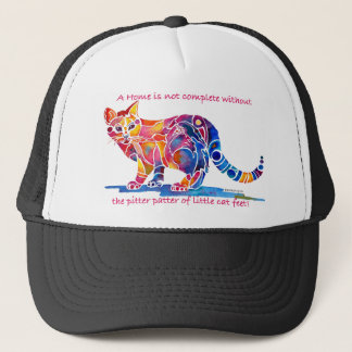 Pitter Patter of Little Cat Feet Trucker Hat