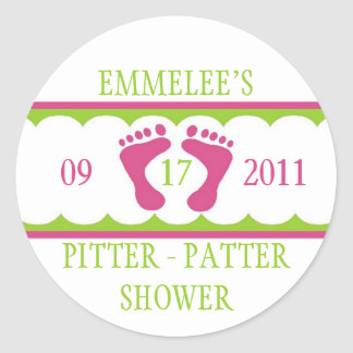 Pitter Patter Sticker
