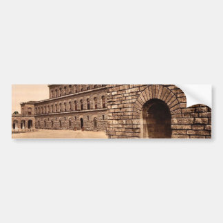 Pitti Palace, royal residence, Florence, Italy cla Bumper Stickers