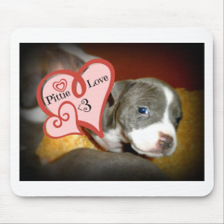 Pittie Love <3 Mouse Pad