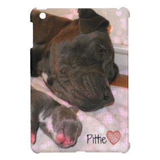 Pittie Love iPad Mini Cover