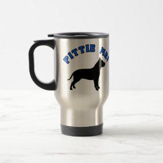 PITTIE ME! - FUNNY PITBULL DOG TRAVEL MUG