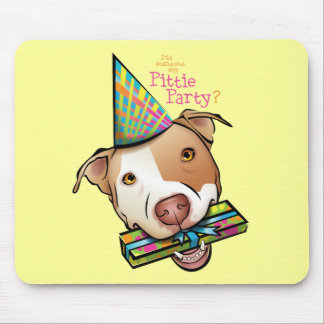 Pittie Party Mouse Mats
