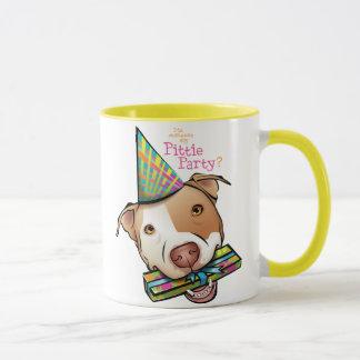 Pittie Party Mug
