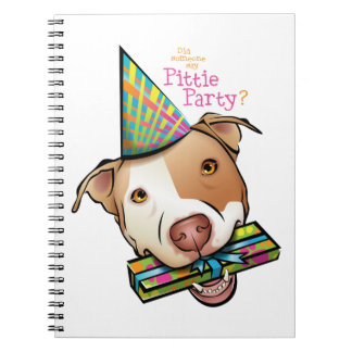 Pittie Party Notebook