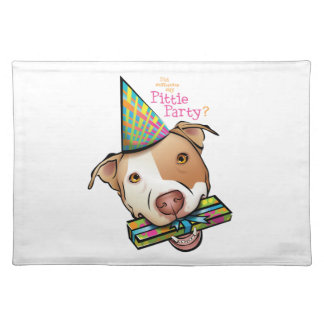 Pittie Party Placemat