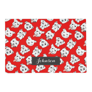 """Pittie Pittie Please"" Dog  Pattern 