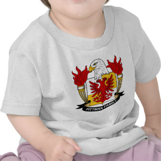 Pittman Coat of Arms / Family Crest Tee Shirts
