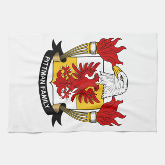 Pittman Family Crest Towel