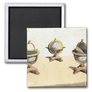Pitt's Cabinett Globe Writing Table Magnet