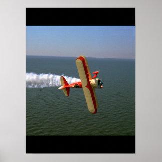 Pitts, Samson replica,1985_Classic Aviation Poster