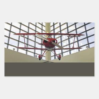 Pitts Special Aerobatics Plane Rectangular Sticker
