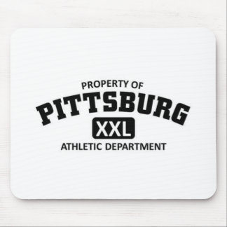 Pittsburg Athletic Department Mousepad