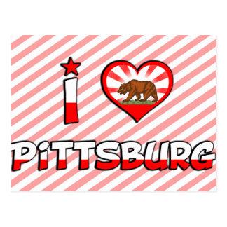Pittsburg, CA Post Card