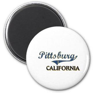 Pittsburg California City Classic Refrigerator Magnet