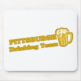 Pittsburg Drinking Team tee shirts Mouse Pads