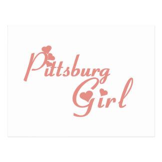 Pittsburg Girl tee shirts Postcards