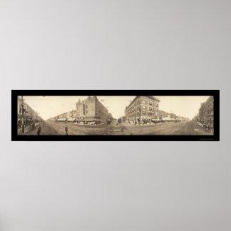 Pittsburg, KS Photo 1909 Poster