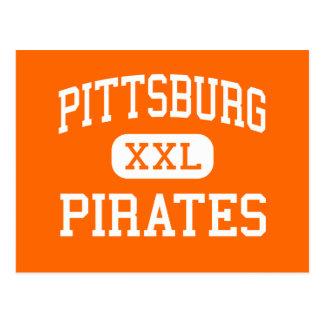 Pittsburg - Pirates - High - Pittsburg California Postcard