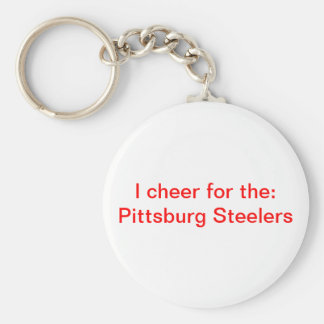 Pittsburg Steelers Llavero Redondo Tipo Pin
