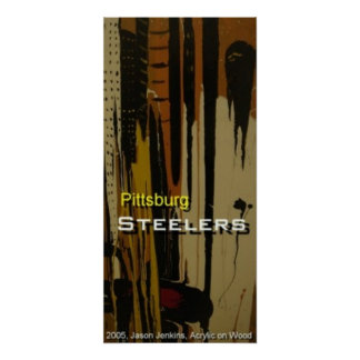Pittsburg Steelers Poster