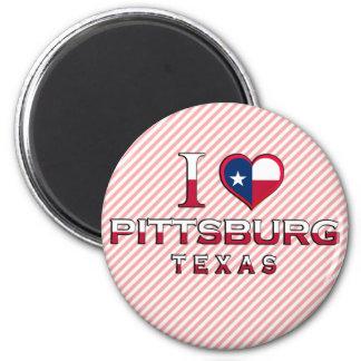 Pittsburg, Texas Fridge Magnets