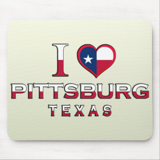 Pittsburg, Texas Mouse Pad