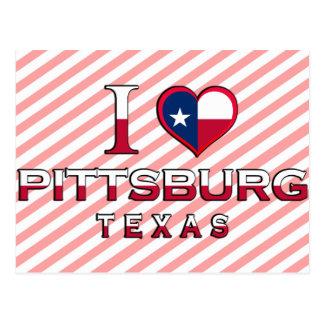 Pittsburg, Texas Postcard