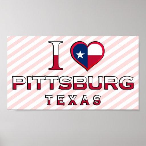 Pittsburg, Texas Poster