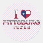 Pittsburg, Texas Sticker