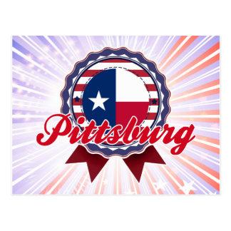 Pittsburg, TX Postcards